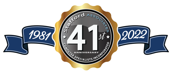 Stafford Assocciates. Celebrating 35 Years of Making IT Work!